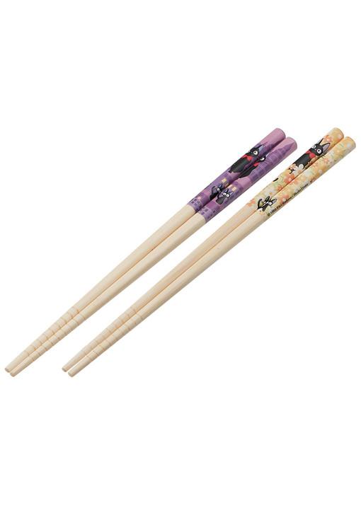 Kiki's Delivery Service Bamboo Chopstick 2pcs Set