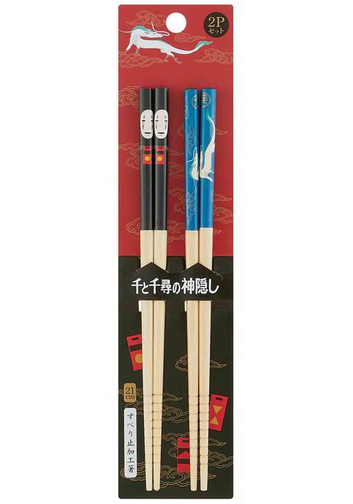 Spirited Away Bamboo Chopstick 2pcs Set