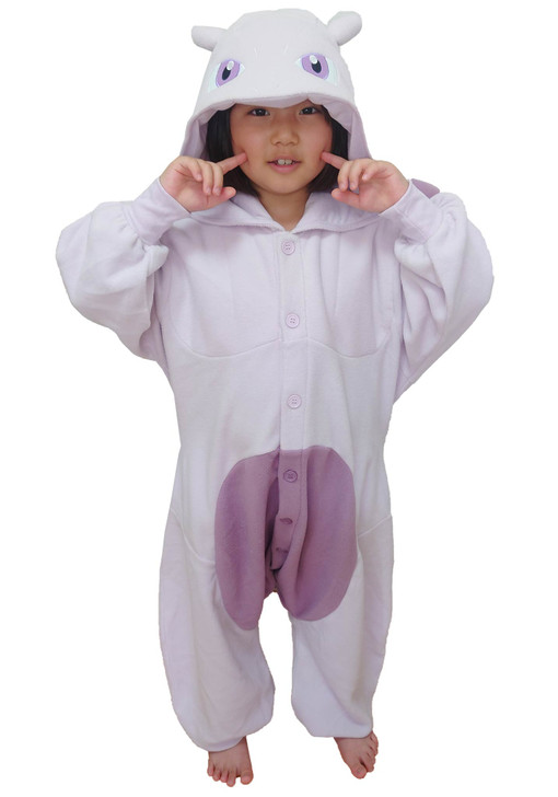 Mewtwo Kids Pokemon Kigurumi