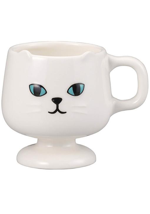 Ceramic White Cat Mug