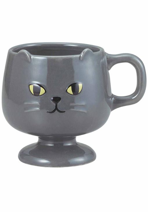 Ceramic Grey Cat Mug