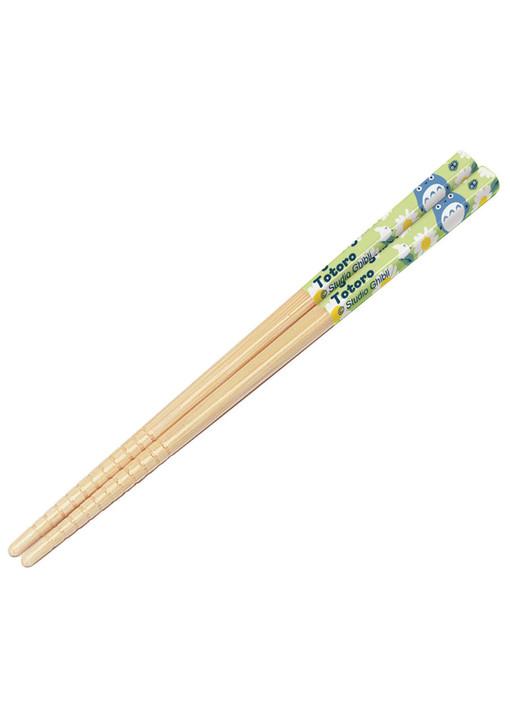 """My Neighbor Totoro Kids Bamboo Chopstick 6.5"""" (Daisies)"""