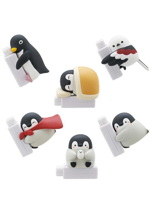 Koupen Chan Cable Cover Includes 1 of 6 Collectible Figurines