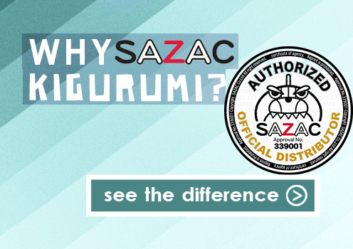Why Buy a SAZAC Kigurumi? Learn More.