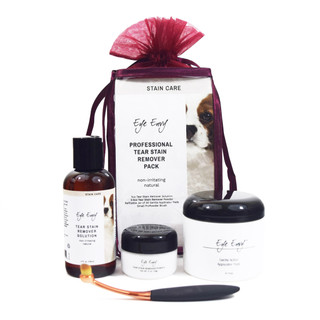 Eye Envy NR Tear Stain Remover All Natural Eye Care - Professional Pack for Dogs and Puppies
