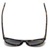 Kenneth Cole Designer Sunglasses KC7114-55N in Tokyo-Tort Frame with Grey Lens