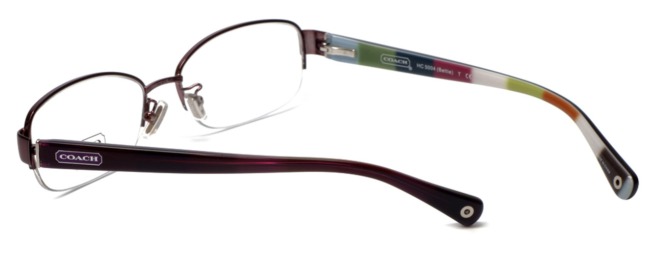 6dca9621beec Coach Womens Designer Eyeglasses 'Bettie' HC5004 in Purple (9032) 53mm ::