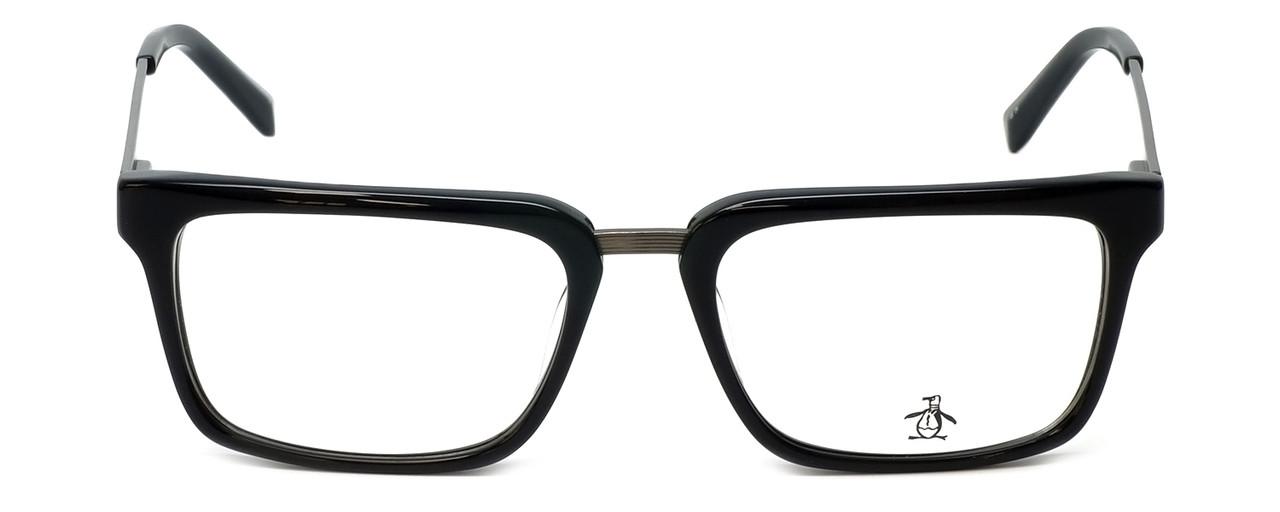 b361bf9df09b Original Penguin Designer Eyeglasses The Stanford in Black 53mm    Custom  Left   Right Lens