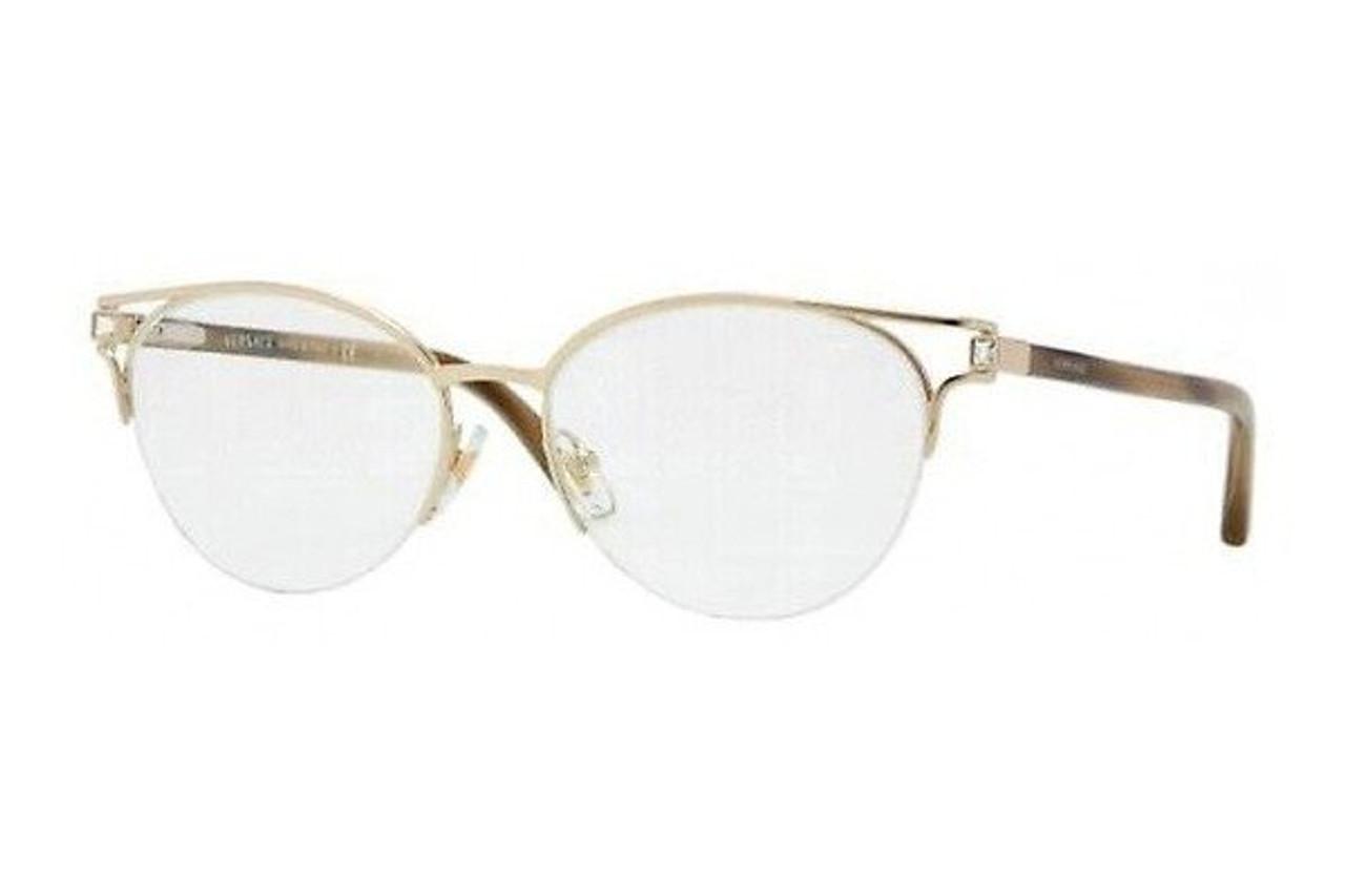 2a4f3ffa86a9b Versace Designer Eyeglasses 1202B-1252    Rx Single Vision - Speert  International