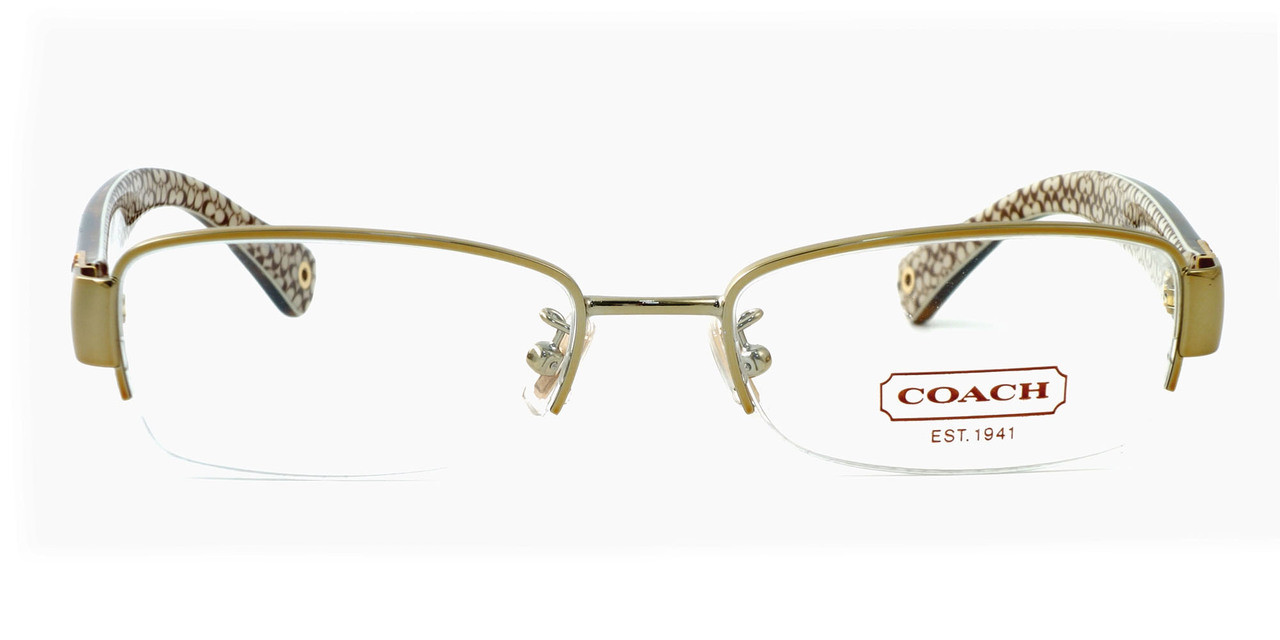 211db6a7556 Coach Womens Designer Eyeglasses 5027B in Gold Tortoise (9080)    Rx Single  Vision - Speert International