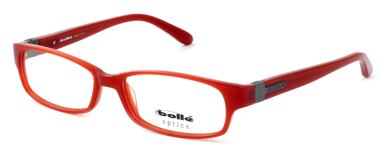 0b41bf8bf56 Bollé Deauville Designer Eyeglasses in Brick Red    Rx Single Vision ...