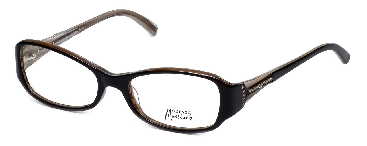 463519eb46d Guess by Marciano Designer Eyeglasses GM142-BLK in Black    Rx Single Vision