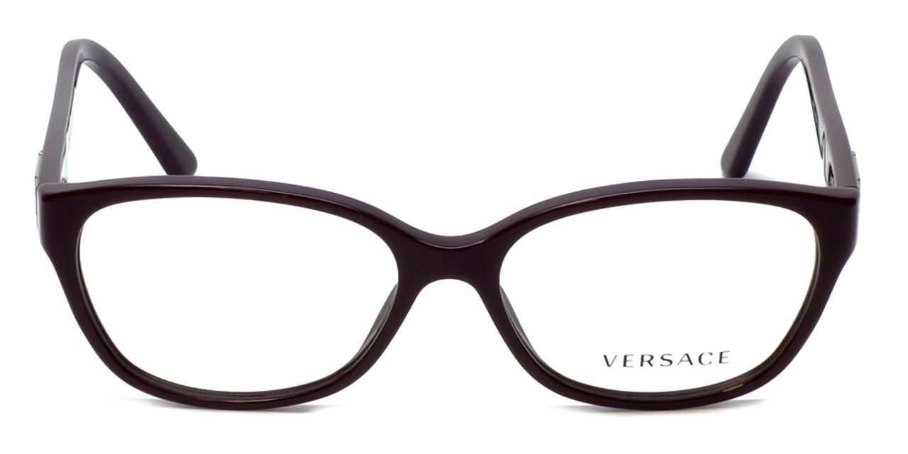 431dd35c71d Versace Designer Eyeglasses 3189B-5066 in Purple 54mm    Rx Single ...