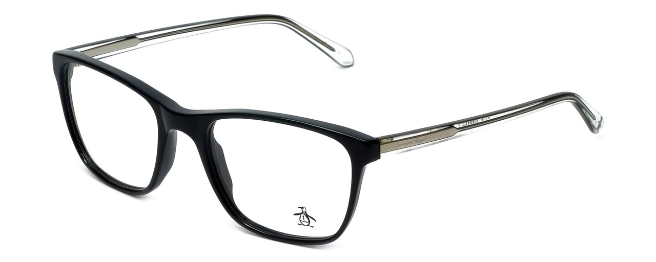bf9f470c06 Original Penguin Designer Eyeglasses The Anderson in Black 52mm    Rx  Single Vision