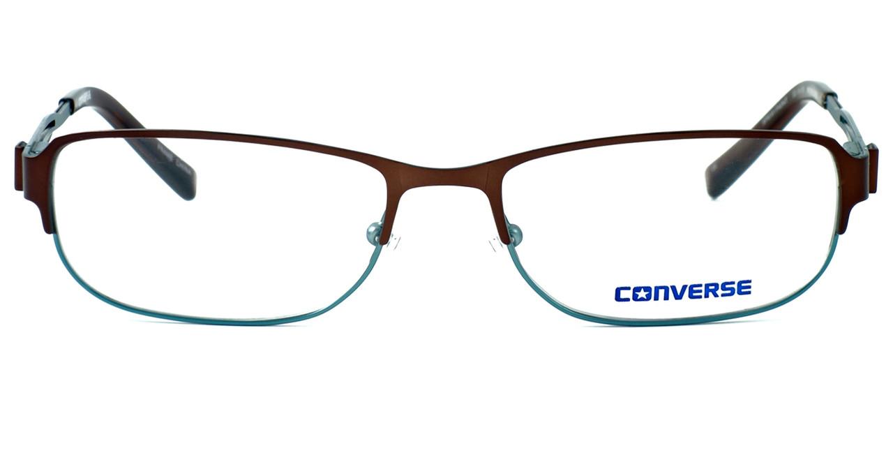 Converse Spray Paint Designer Eyeglasses in Brown/Green :: Progressive