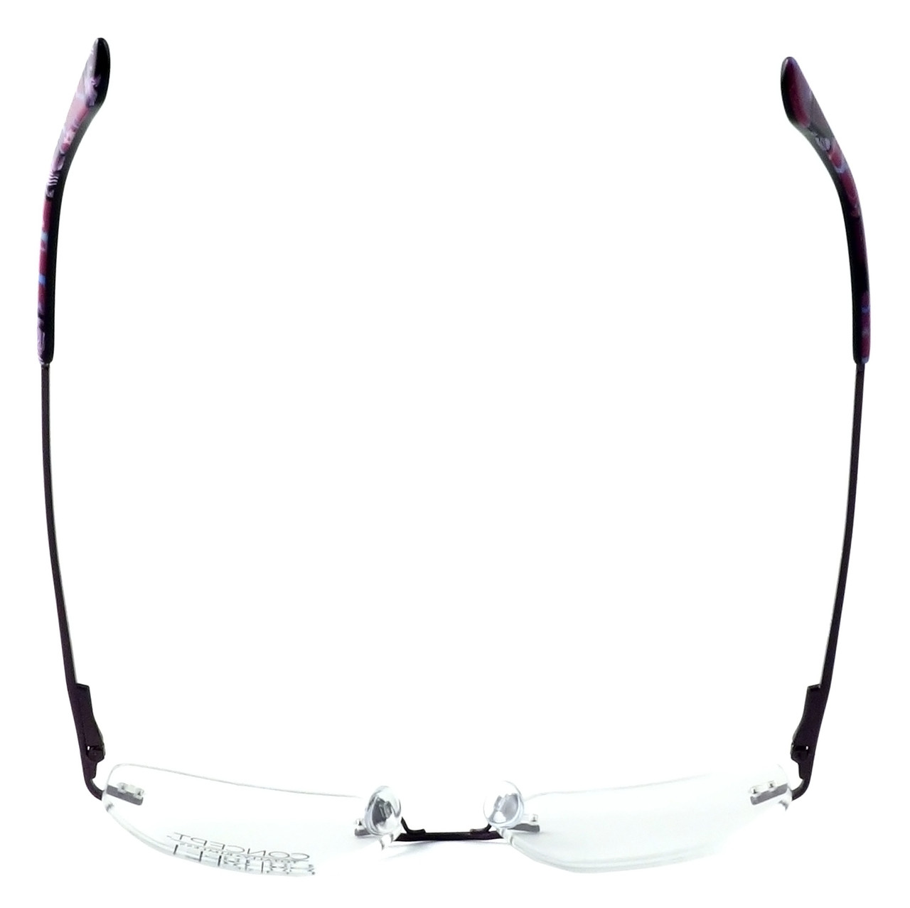 740e5ba701d1 Totally Rimless Designer Eyeglasses TR161-PPL in Purple    Progressive