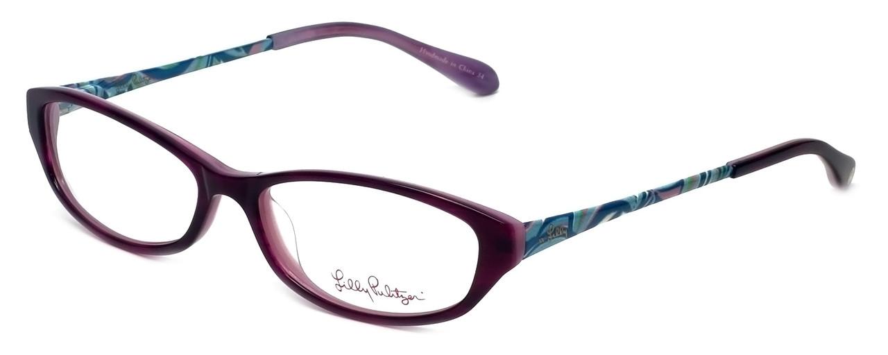 5577ff072eeab Lilly Pulitzer Designer Reading Glasses Avaline in Plum 53mm ...
