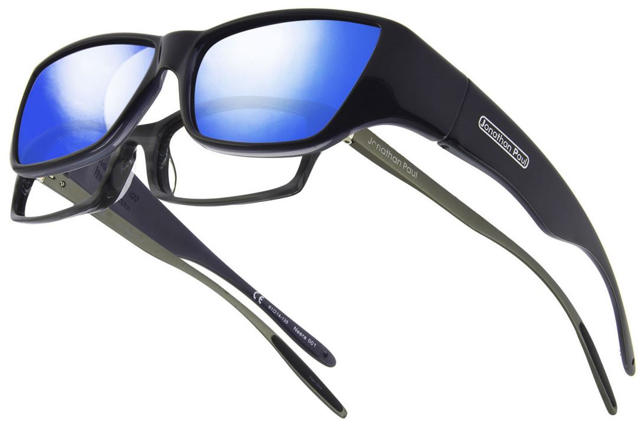 483fcc2d8e9 Jonathan Paul® Fitovers Eyewear Large Neera in Midnite Oil   Blue Mirror  NR001BM - Speert International