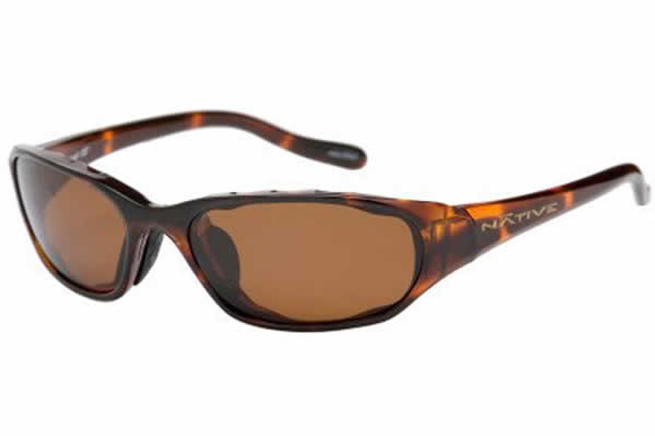 1809d432f9 Native Eyewear Polarized Sunglasses Throttle in Maple Tort   Brown ...