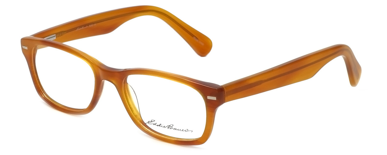 c97b74d533 Eddie-Bauer Designer Eyeglasses EB8263 in Honey 50mm    Custom Left   Right  Lens
