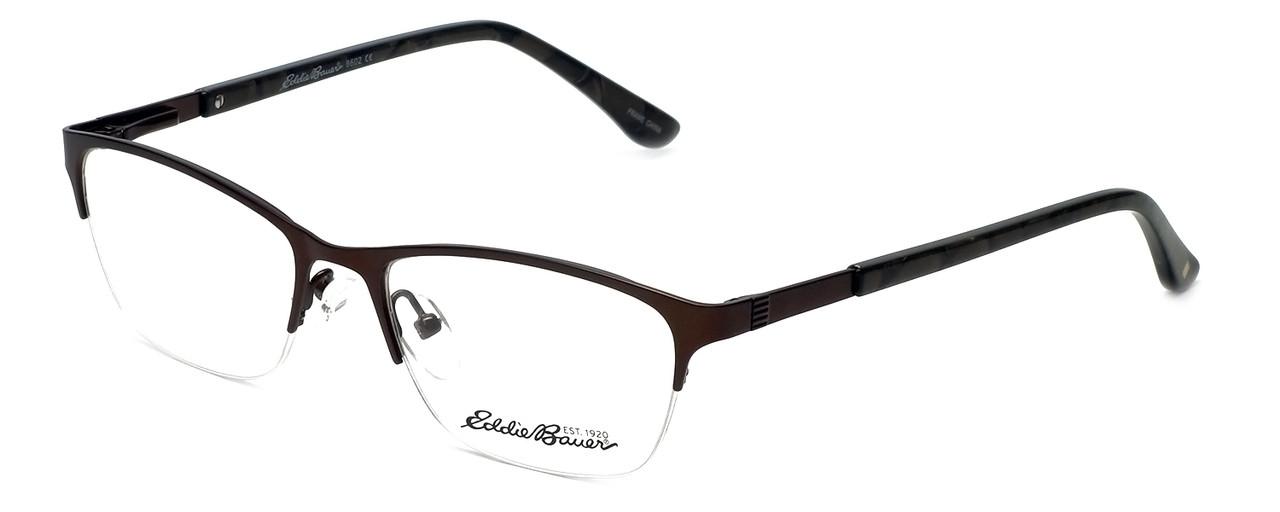 a3cc0ddfacba Eddie-Bauer Designer Reading Glasses EB8602 in Satin-Brown 51mm - Speert  International