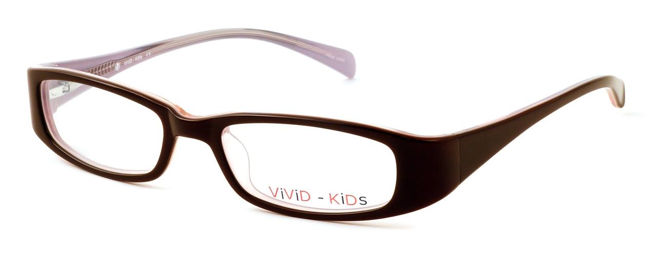443d58b11eb Calabria Viv Kids 119 Designer Reading Glasses in Brown-Pink ...