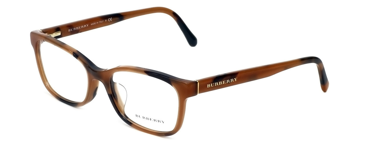 5c3a6ac85bf5 Burberry Designer Eyeglasses BE2201F-3518 in Spotted-Amber 54mm ...