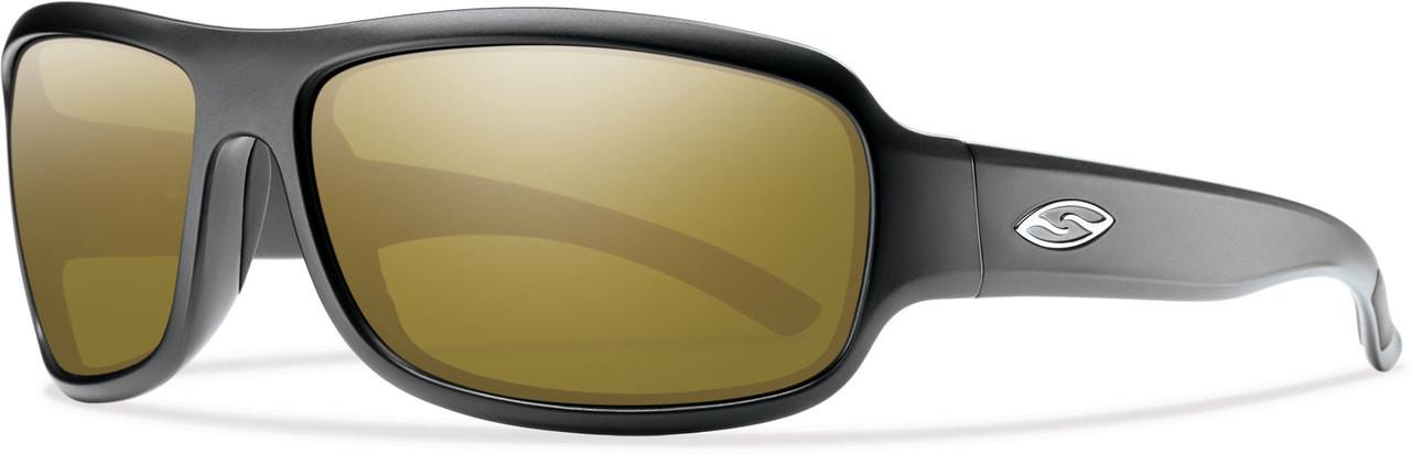 1eedefe589 Smith Optics DROP ELITE in MATTE BLACK   POLARIZED BRONZE MIRROR Lens -  Speert International