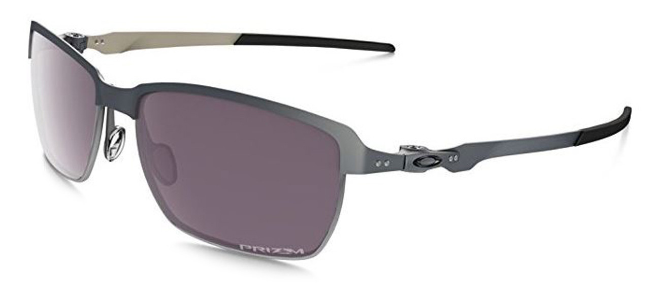 9bdec4b863 Oakley Designer Sunglasses Tinfoil OO4083-09 in Carbon   Polarized Prizm  Daily Lens