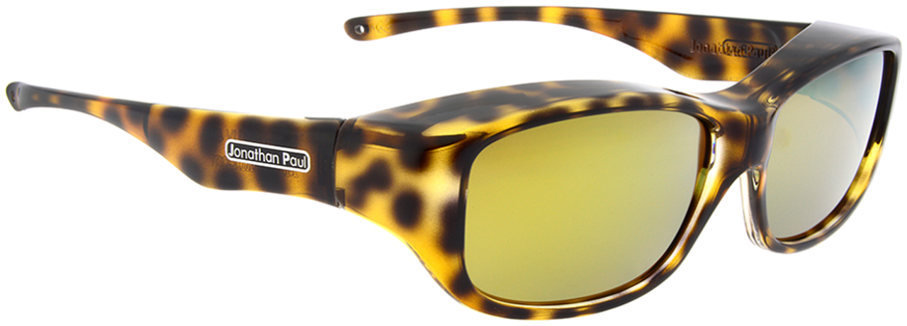 742577c305 Jonathan Paul® Fitovers Eyewear Medium Queeda in Cheetah   Gold Mirror  QS003YM