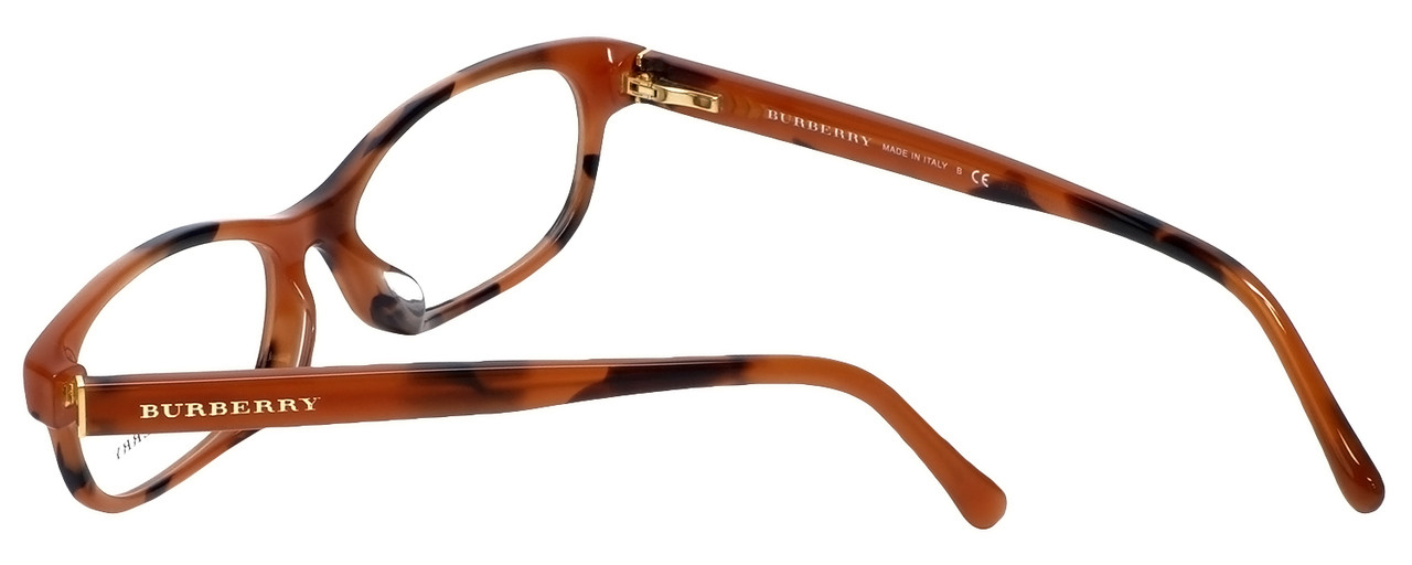 ab0579323abd Burberry Designer Reading Glasses BE2202F-3518 in Spotted-Amber 54mm ...