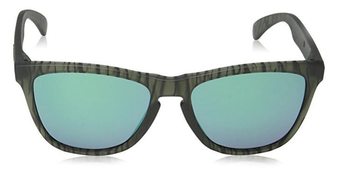 fb109e54dbe Oakley Designer Sunglasses Frogskins OO9013-69 in Matte-Olive-Ink   Jade  Iridium