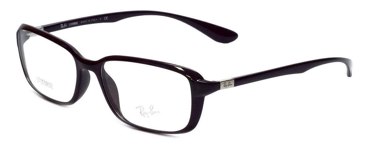 fffcfff307 Ray-Ban Designer Eyeglasses RX7037-5432 in Violet 56mm    Progressive