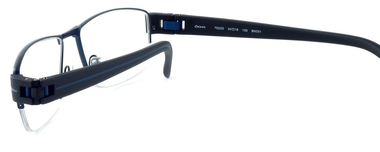 OGA Designer Reading Glasses 7922O-BN051 in Black & Blue