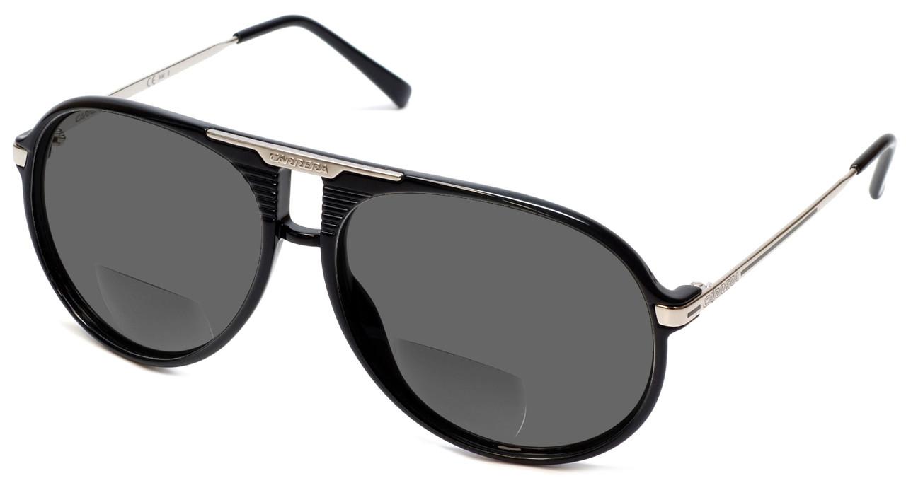 Carrera 56 in Black Polarized Bi-Focal Reading Sunglasses - Speert ... 12a80767e77