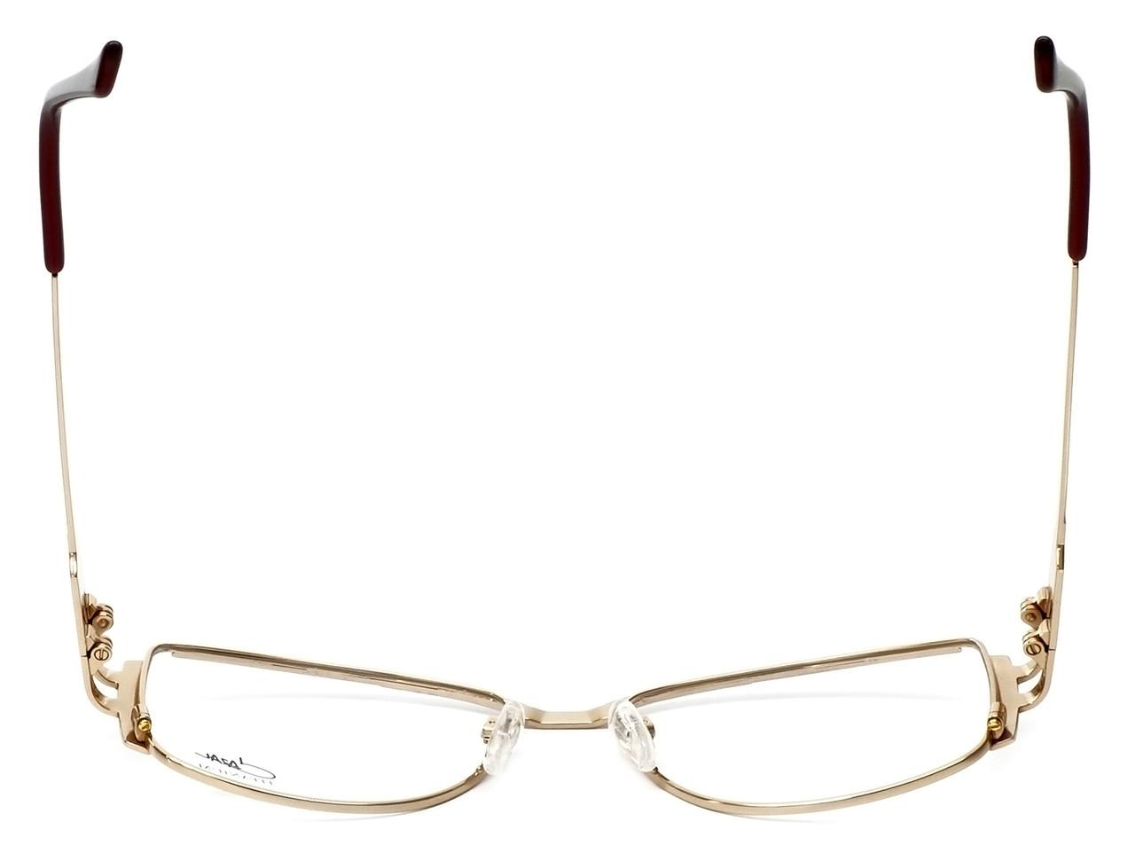 17e7432d6a9 Cazal Designer Eyeglasses 1084-001 in Gold-Red 56mm    Rx Bi-Focal ...