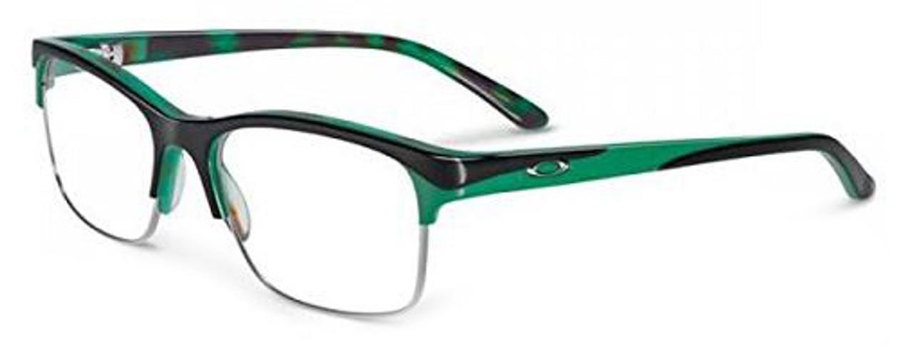 81352f11f1e2 Oakley Designer Eyeglasses Allegation OX1090-0552 in Green Tortoise 52mm     Custom Left