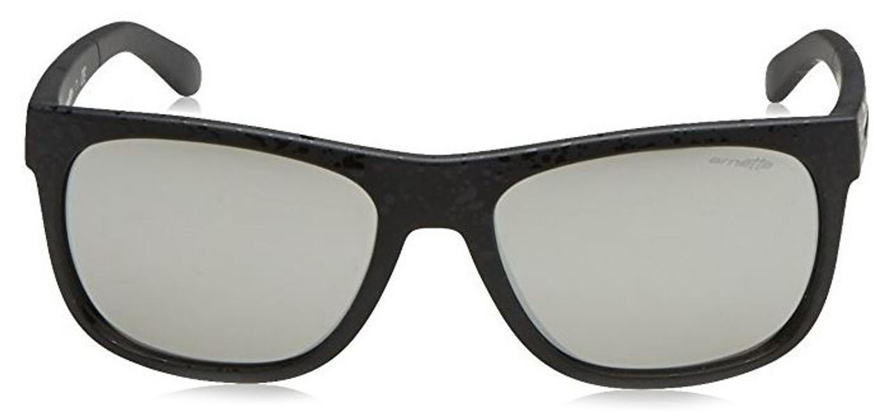 Arnette Designer Reading Glasses Fire Drill Lite AN4206-23666G in Matte-Black & Silver Mirror