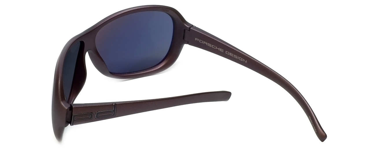 34a3f0e5317c Porsche Designer Sunglasses P8520-D in Purple with Grey Lens ...
