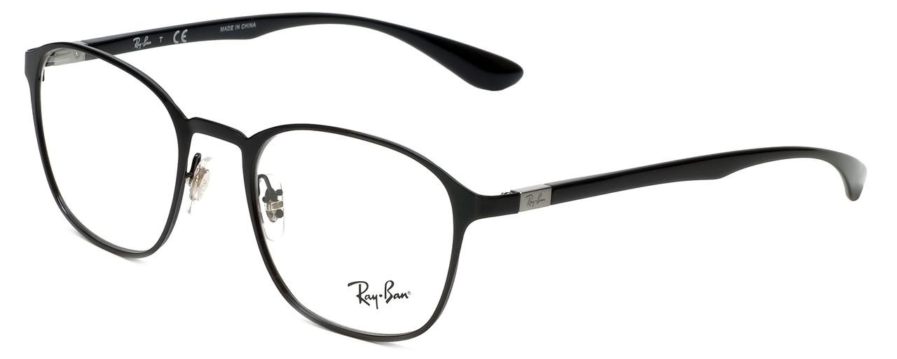 304a37a2b87 Ray-Ban Designer Eyeglasses RB6357-2509 in Black 51mm    Custom Left    Right Lens - Speert International