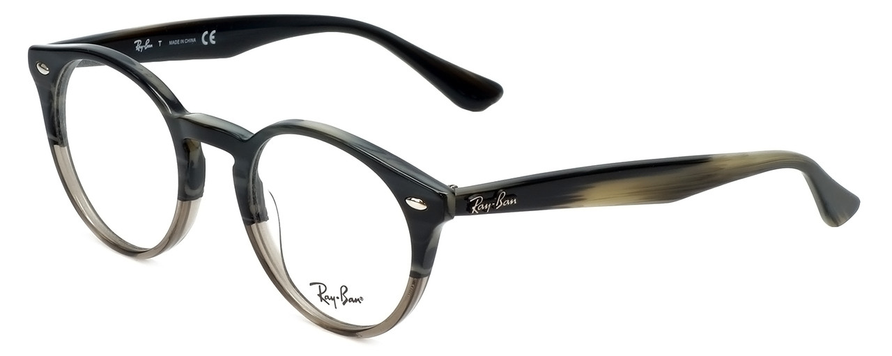 2ab4f12379 Ray-Ban Designer Reading Glasses RB2180V-5540 in Grey-Horn 47mm - Speert  International