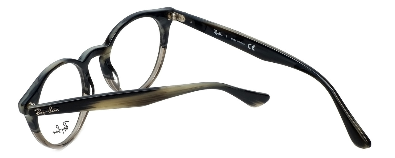 ca86c8bf8a9ac Ray-Ban Designer Reading Glasses RB2180V-5540 in Grey-Horn 47mm ...