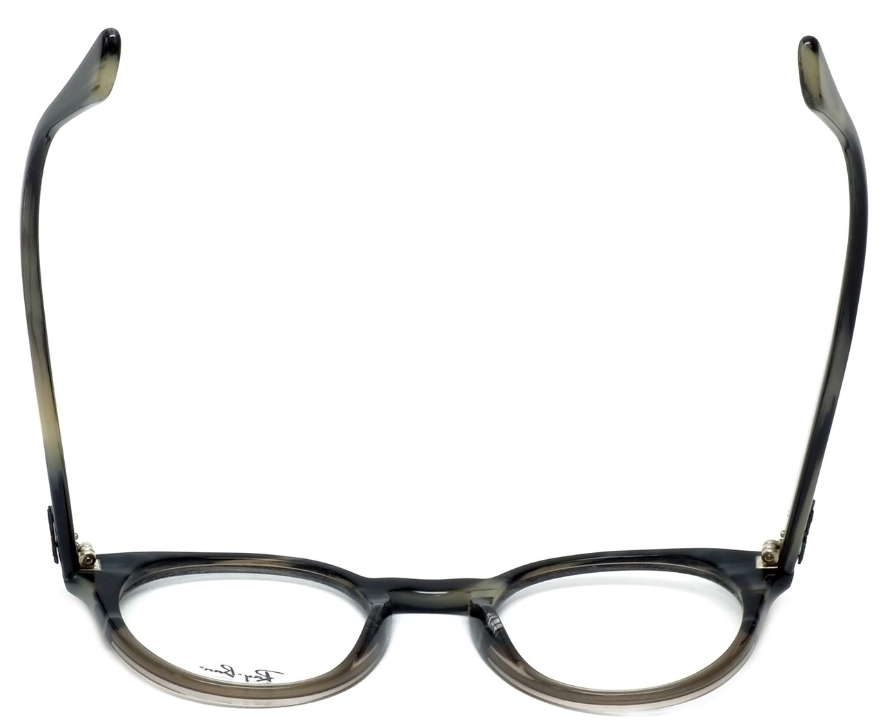 f1fdfccbe7 Ray-Ban Designer Reading Glasses RB2180V-5540 in Grey-Horn 47mm ...