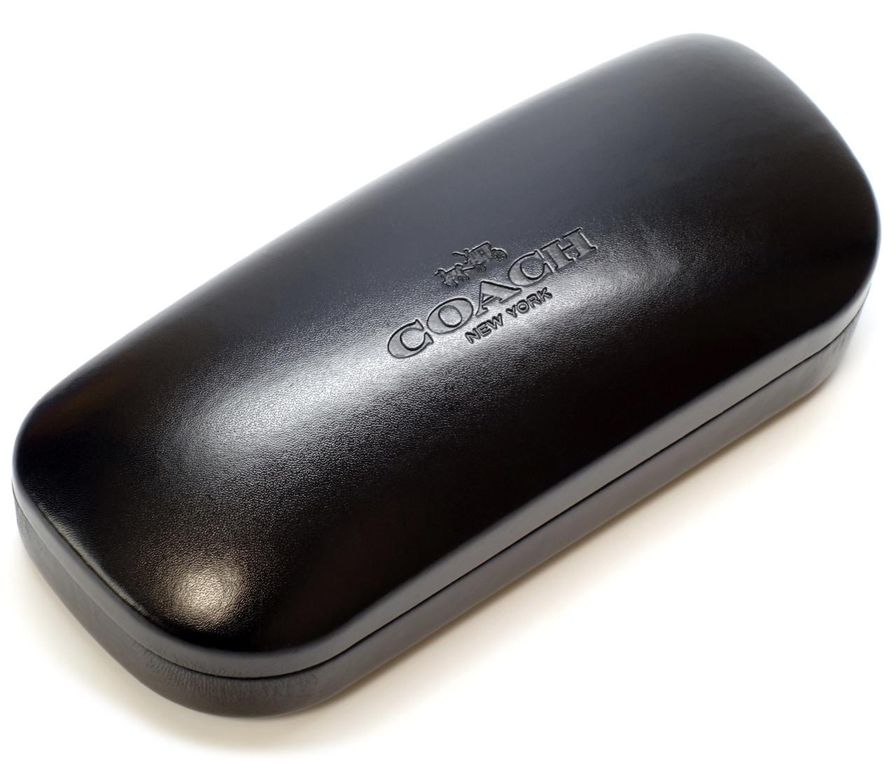 d3a64d8a0837 Coach Authentic Hard Eyeglass Case Medium Size in Black - Speert  International