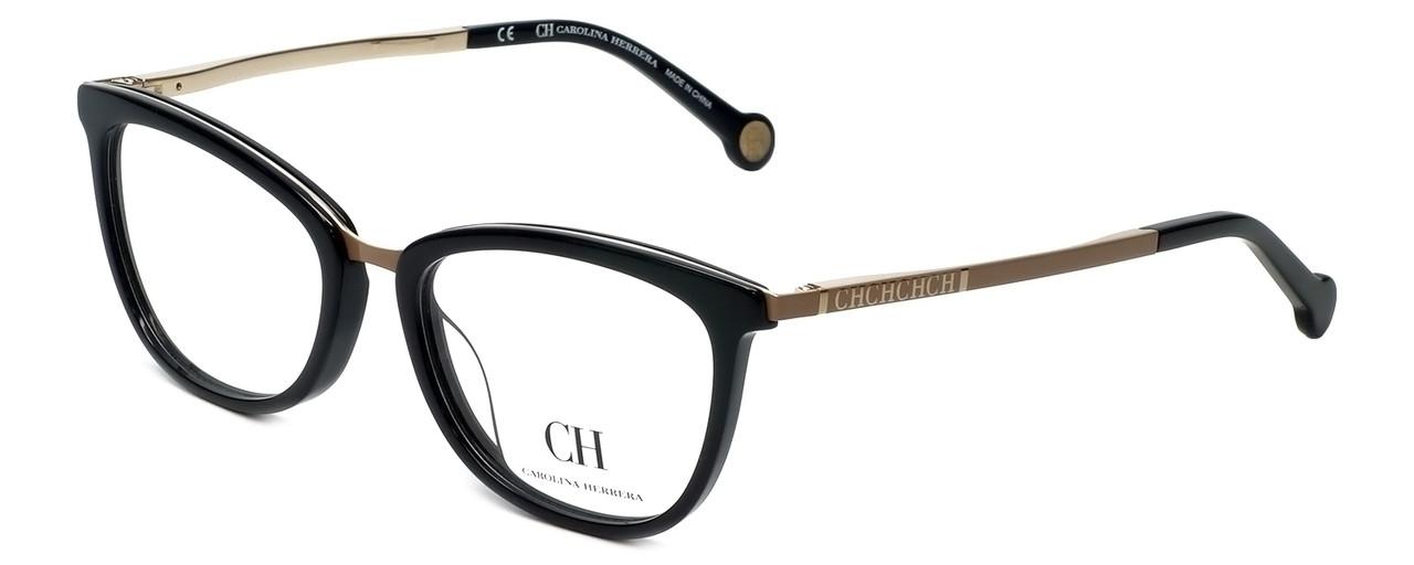 9a643bcc24ab Carolina Herrera Designer Reading Glasses VHE094K-0F47 in Black 52mm -  Speert International