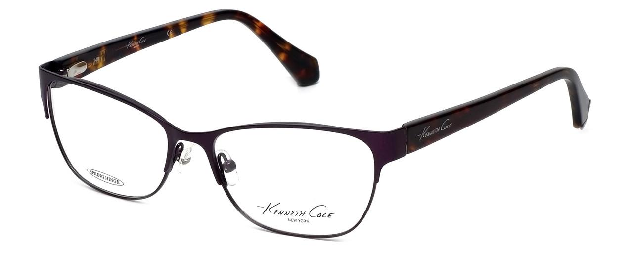 45fbe554376 Kenneth Cole Designer Reading Glasses KC0232-091 in Purple - Speert ...