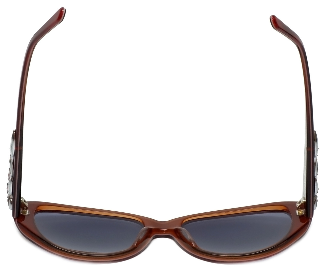 66ee144da8 Judith Leiber Designer Sunglasses JL5002-06 in Ruby in Grey Lens ...
