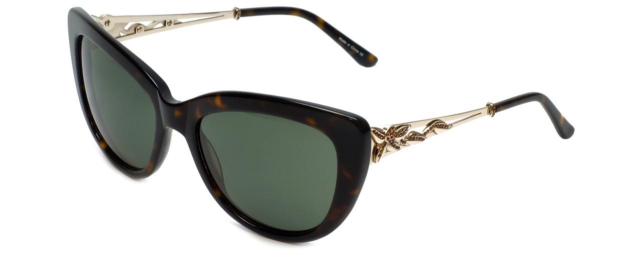 936c4e75cc Judith Leiber Designer Sunglasses JL5008-02 in Topaz in G15-Gradient Lens