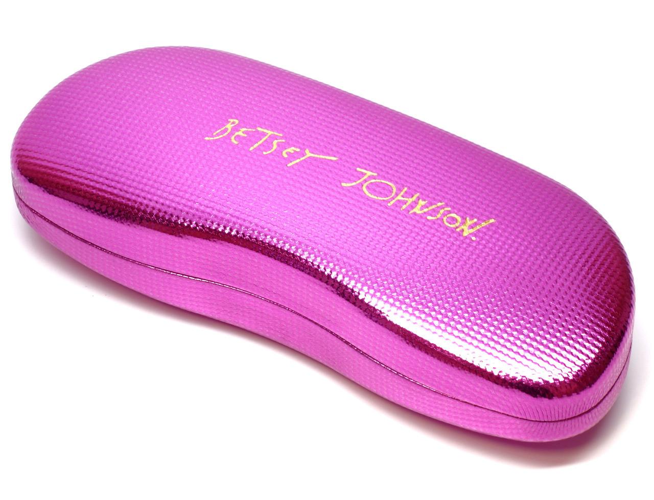 7e1360eb990 Betsey Johnson Designer Eyeglasses Heart-Throb BJ021-01 in Black ...