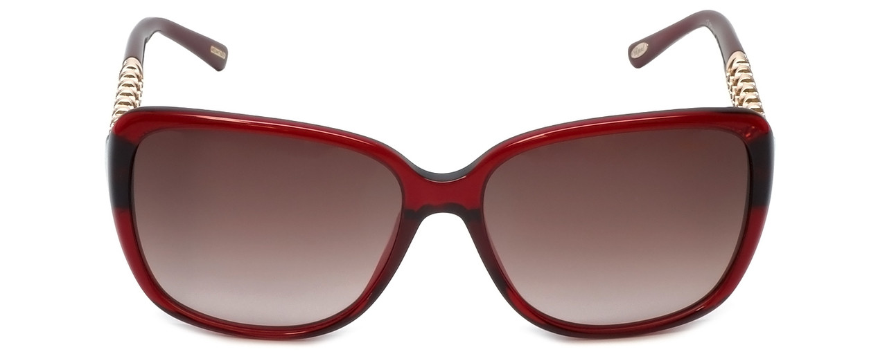 9fc1592dde Chopard Designer Sunglasses SCH184S-0954 in Red with Brown-Gradient Lens